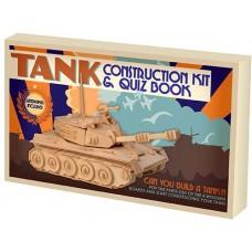 3D Sestavljanka Tank