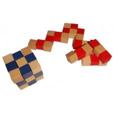 Mini Kocka kača - Modra